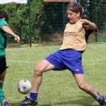 Hier ist Heiko Willers (r.) noch im Trikot des Düneberger SV im Einsatz. Ab Sommer übernimmt er die neue 2. Herren des SV Hamwarde.